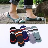 Kaos Kaki Pendek Hidden Socks Boat Socks Full Anti Slip 006#
