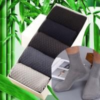 kaos kaki Pria Bambu Serat Kaus Kaki Kaus Kaki Anti Bakteri Kasual