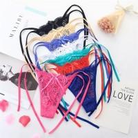 celana thong celana dalam lace Bahan tali sexy g string bikini C103