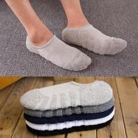 kaos kaki hidden pria Socks wanita kaos kaki handuk tebal C011