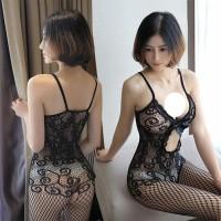 lingerie stocking bodysuit lingerie transparan Open leotard sexy A281