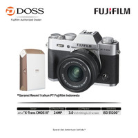 Fujifilm XT20 Kit 15-45mm Silver (Bundling Instax Share SP-2)