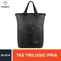 Bodypack Prodiger Lightown Trilogic Laptop Backpack - Black