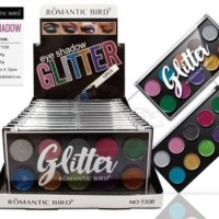 Romantic Bird Glitter Eyeshadow Palette T338