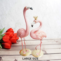 Pajangan Patung Flamingo / Home Decoration | LARGE