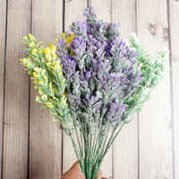 Flower Impor Bunga Artificial Rumput Daun Lavender / Best Price