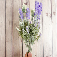 Bunga Flower Impor Artificial Lavender / Best Quality