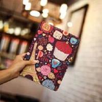 Fashion Book Cover iPad 2 3 4 PARIS FLOWER Stand case