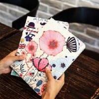 Fashion Book Cover iPad mini 1 2 3 PARIS FLOWER Stand case