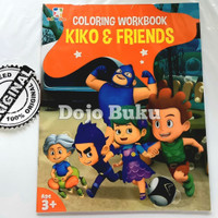 Coloring Workbook: Kiko And Friends by Mnc Animation