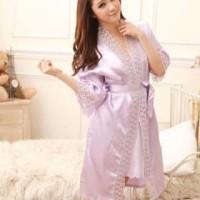 Baju Tidur Kimono Wanita Import Pernikahan   Kado Cewek Sleepwear