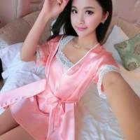 Kimono Wanita 081 | Baju Tidur Lingerie Seksi Wanita Sleepwear Set