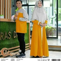 Couple Syari Bergo Cotton Poppy
