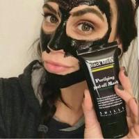 Best BIOAQUA black mask masker hitam