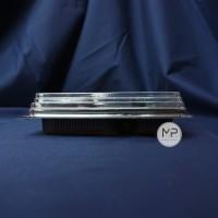 Mika Box Bento PREMIUM FULL SET ( + Sendok Garpu) 4 sekat - 50pcs
