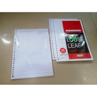 Kertas Loose Leaf College B5 7mm 80 gram 30 Lines 26 Holes - Kiky