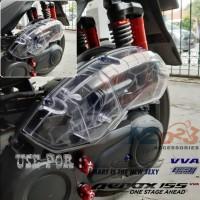 Cover Tutup Filter Transparan AEROX LEXI