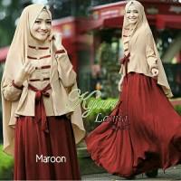 Gamis / Baju / Pakaian wanita muslim Lamia Syari