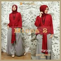 Gamis / Baju / Pakaian Wanita Muslim Micca Syari