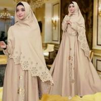 Gamis / Baju / Setelan Wanita Muslim Inez Syari   Hijab / good Quality