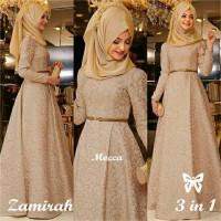 Gamis / Baju / Pakaian Wanita Muslim New Zamirah Syari