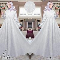 Gamis / Baju / Pakaian Wanita Muslim Zelia Syari