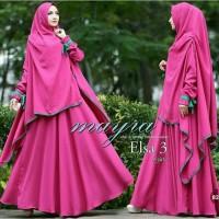 Gamis / Baju / Setelan Wanita Muslim Elsa Syari