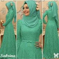 Gamis / Baju / Pakaian Wanita Muslim Sabrina Syari