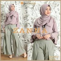 Gamis / Baju / Pakaian wanita Muslim Zanna Syari