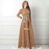 Gamis / Baju / Pakaian Wanita Muslim Rosalinda Syari 2