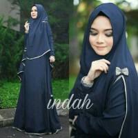 Gamis / Baju / Pakaian Wanita Muslim Indah Syari