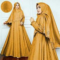 Gamis / Baju / Pakaian Wanita Muslim Thalia Syari