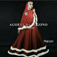 Gamis / Baju / Pakaian Wanita Muslim Mayya Syari