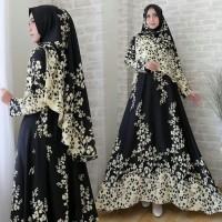 Gamis / Baju / Setelan Wanita Muslim Afiyah Syari   hijab ( real pic )