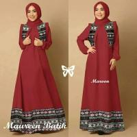 Gamis / Pakaian wanita muslim Maureen Batik Syari