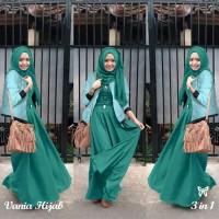 Gamis / Baju / Pakaian Wanita Muslim Vania Syari