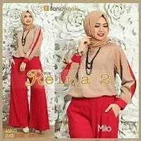 Gamis / Baju / Pakaian Wanita muslim Reina Syari