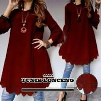 Tunik / Blouse / Baju wanita Muslim Lonceng