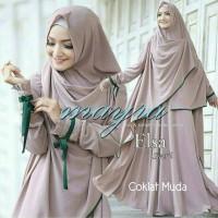 Gamis / Pakaian wanita muslim New Elsa (3)