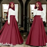 Gamis / Baju / Pakaian Wanita Muslim Mahira Syari