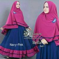 Gamis / Baju / Pakaian Wanita Muslim Bella syari (3)