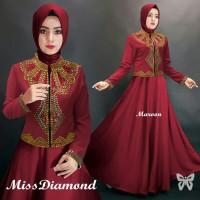Gamis / Baju / Pakaian Wanita Muslim Diamond Syari