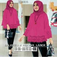 Blouse / Baju Atasan wanita Muslim Azka top