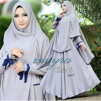 Gamis / Baju / Pakaian Wanita Muslim Elsa Syari
