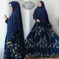 Gamis / Baju / Setelan Wanita Muslim Monalisa Silvia Syari