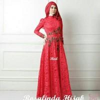 Gamis / Baju / Pakaian Wanita Muslim Rosalinda Syari
