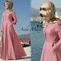 Gamis / Baju Wanita Muslim Aida Syari
