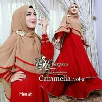 Gamis / Baju / Pakaian Wanita Muslim Cammelia Syari