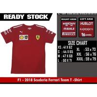 TShirt F1 - Scuderia Ferrari Team 2018