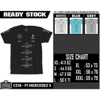 T-shirt F1 - CS18 - F1 MERCEDEZ 5